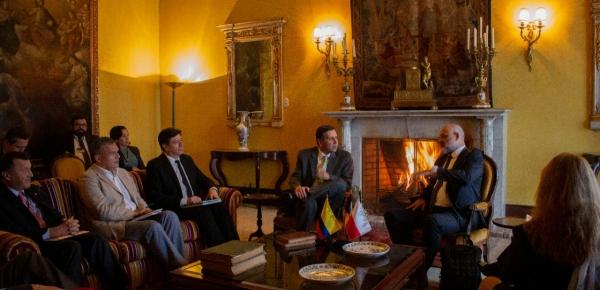 Colombia y Polonia revisaron temas de la agenda bilateral durante reunión de consultas políticas