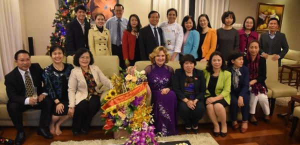 Configurar La Embajada de Colombia en Vietnam llevó a cabo evento gastronómico con el chef colombiano