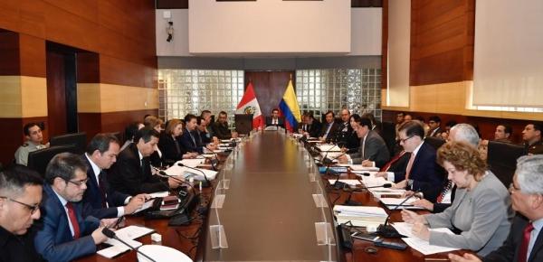 Colombia participó en la VI Reunión del Mecanismo de Alto Nivel de Seguridad y Cooperación Judicial que se realizó en Perú