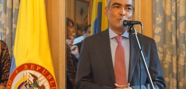 Alto Comisionado para la Paz, Rodrigo Rivera, inició visita oficial en Bruselas