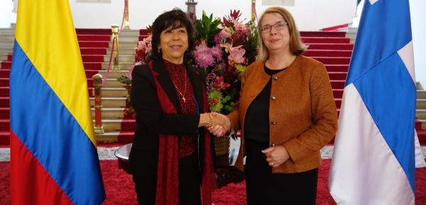 Gobiernos de Colombia y Finlandia adelantaron la IV Reunión de Consultas Políticas