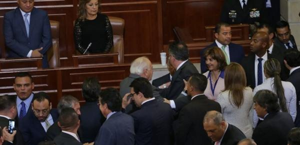 Ministra de Relaciones Exteriores asistió a la instalación, por parte del Presidente Santos, de las sesiones ordinarias del Congreso de la República 2017 – 2018