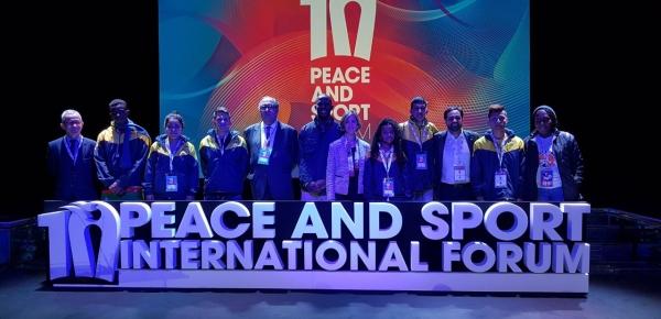 Hoy se conocerá si la Cancillería colombiana obtiene el premio internacional Peace and Sport en la categoría Acción Diplomática