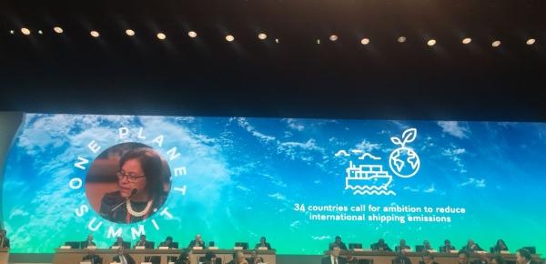 Colombia participa activamente en el One Planet Summit de 2017