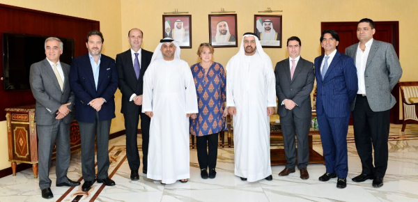 El Embajador de Colombia en Emiratos Árabes Unidos se reunió con el Vicepresidente de la Cámara de Comercio de Abu Dhabi