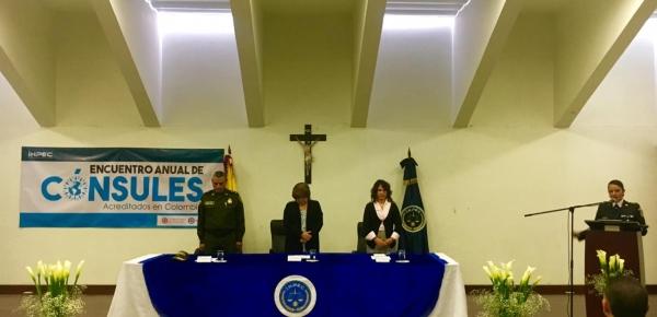 Cancillería asistió al IV encuentro de cónsules acreditados en Colombia en el Instituto Nacional Penitenciario y Carcelario -INPEC-