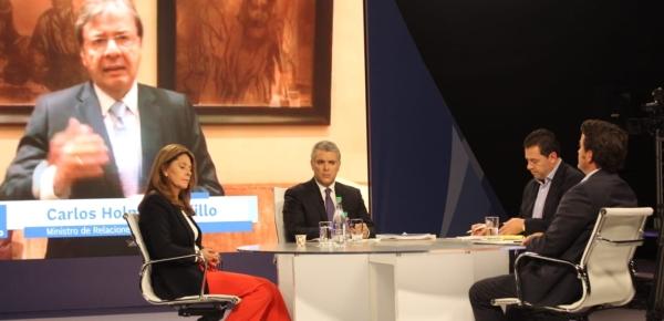 """""""En política exterior todo estará orientado a la legalidad, al emprendimiento y a la equidad sobre la base de la sostenibilidad y de la innovación"""": Canciller Trujillo en balance de 100 días de Gobierno"""
