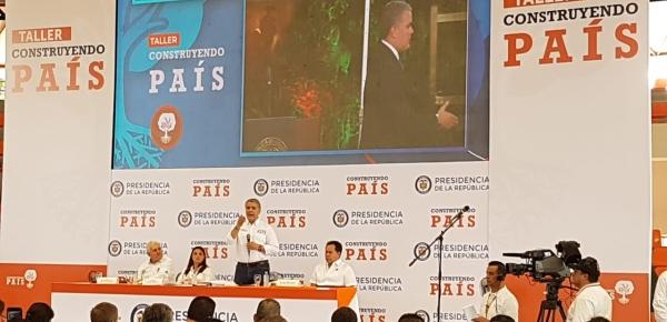 Presidente Duque presentó Documento Conpes que busca fortalecer la atención integral y eficaz a la población migrante de Venezuela