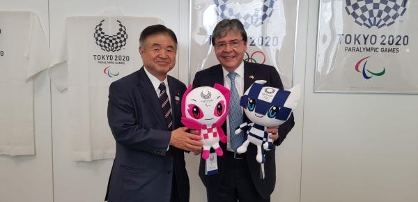 Canciller dialogó con el Ministro Encargado de los Juegos Olímpicos y Paralímpicos de Japón sobre cooperación deportiva y apoyo a los atletas colombianos que nos representarán en los Juegos de Tokio 2020