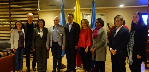 Colombia acogerá la reunión del Grupo Mundial de Políticas de la OMS