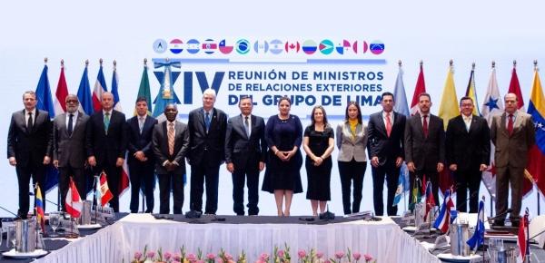 Declaración de la Reunión de Ministros de Relaciones Exteriores del Grupo de Lima