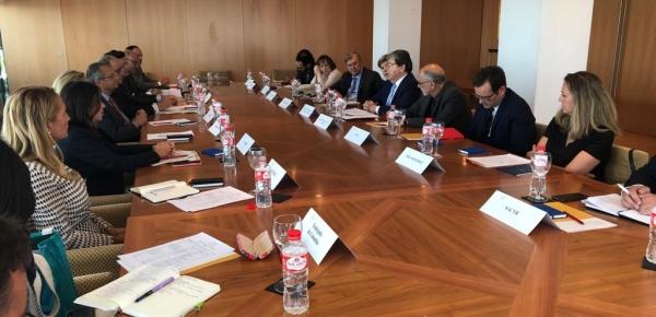 Ministro Holmes Trujillo sostuvo un encuentro con el Secretario General de la Fundación Consejo España Colombia, Jaime Lacadena Higuera