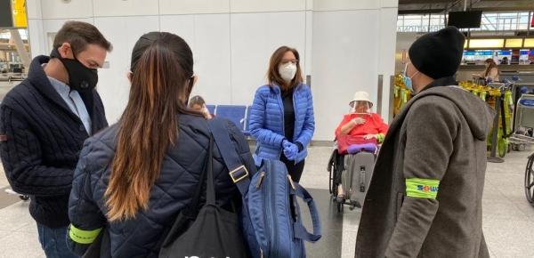Desde Nueva York, regresan al país 247 colombianos en un vuelo de carácter humanitario