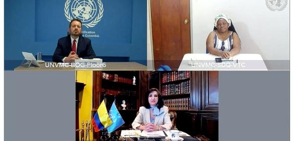 Canciller Claudia Blum reitera ante el Consejo de Seguridad de la ONU que la implementación del Acuerdo de 2016 es una realidad