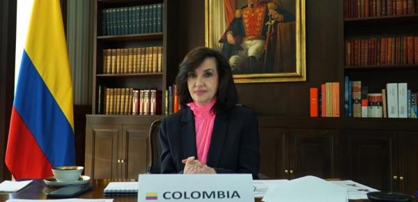 En la sesión plenaria del 50 período de sesiones de la Asamblea General de La OEA, Canciller Blum hizo un llamado para trabajar de manera mancomunada para la reactivación económica