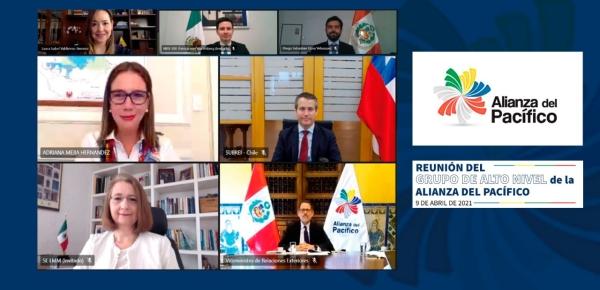 Ayer se desarrolló la primera reunión del Grupo de Alto Nivel bajo la Presidencia Pro Tempore de Colombia en la Alianza del Pacífico