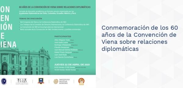 Conmemoración de los 60 años de la Convención de Viena sobre relaciones diplomáticas