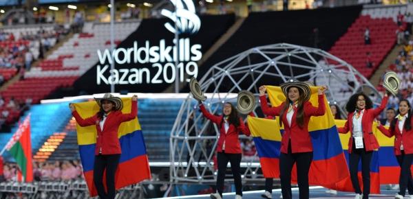 Embajada de Colombia en Rusia destaca la participación de la delegación del SENA en la 45ª edición de WorldSkills - 2019, en Kazán (Rusia)
