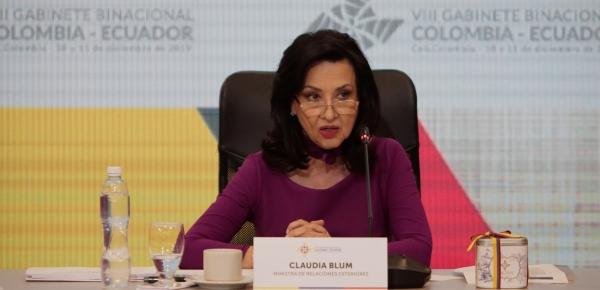 Colombia y Ecuador destacaron la coincidencia de posiciones existentes respecto a la crisis política, económica, social y humanitaria que se vive en Venezuela