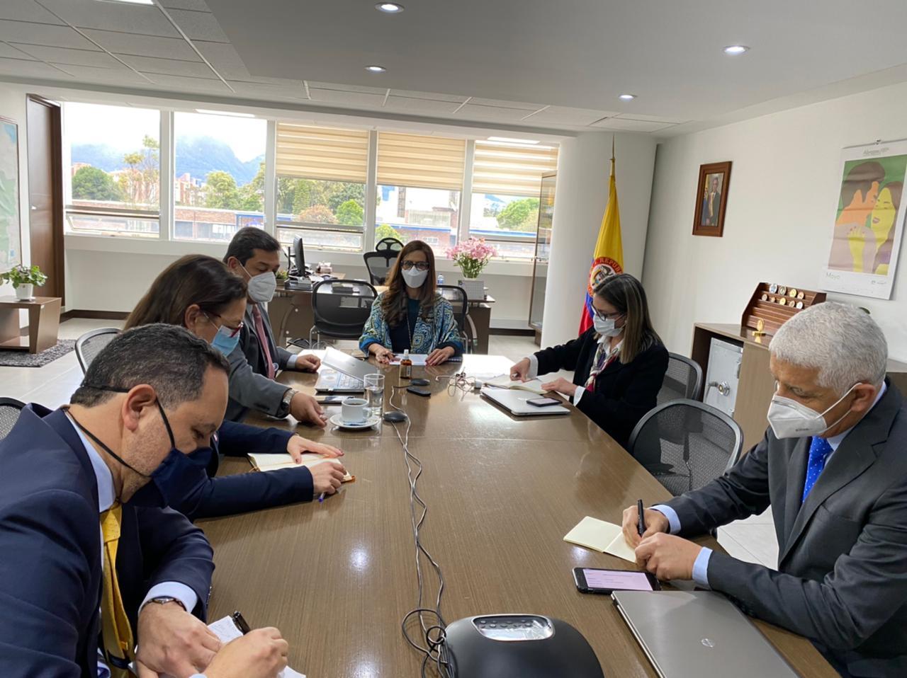 Comunicado de Prensa sobre reunión de trabajo con Juliette De Rivero, Representante en Colombia de la Alta Comisionada de las Naciones Unidas para los Derechos Humanos